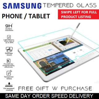 Samsung Tablet / Mobile Tempered Glass