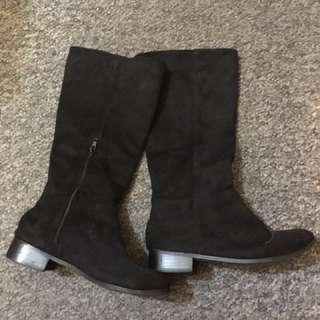 Suede boots size37