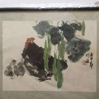 画家王明明33半x44半cm(非卖品 Not For Sale)Chinese Painting
