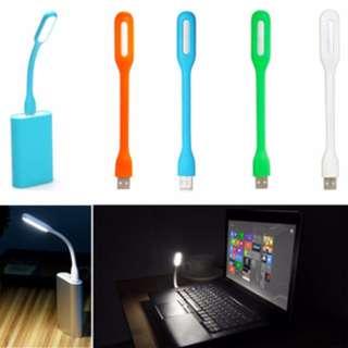 Lampu USB LED Laptop Notebook Powerbank Portable Fleksibel