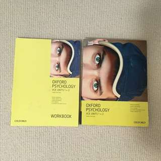 VCE OXFORD Psychology Textbook units 1/2 + workbook