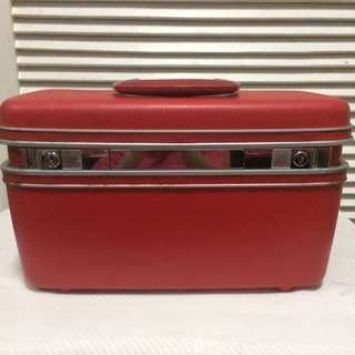 Vintage Samsonite Silhouette Jewelry/ Cosmetic Luggage Case