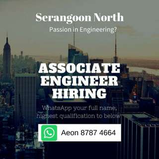 Associate Engineer (US MNC/ No exp OK  )