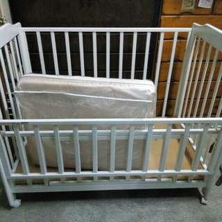 Baby Crib American Size White