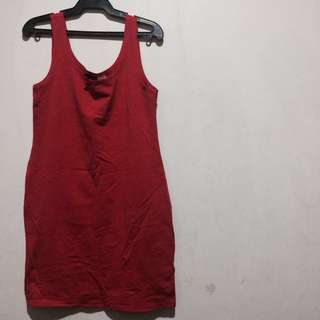 H&M Light Red Sleeveless