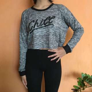 sweatshirt crop