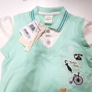 Polo T-Shirt, Cotton, 12M-18M, BNWT, Trudy & Teddy