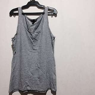 H&M Gray Sleeveless