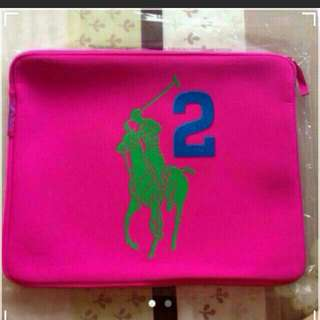 Ralph Lauren Pink Laptop case