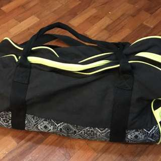 Cotton On Black Duffle Bag