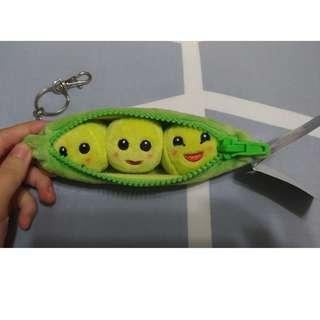 🚚 迪士尼玩具總動員碗豆鑰匙圈吊飾