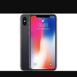 Iphone X brand new sealed with receipt