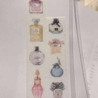 *Limited* Washi Tape - Perfume Bottles