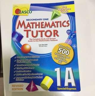 Casco sec one maths tutor