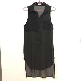 Chiffon Long Top/Dress