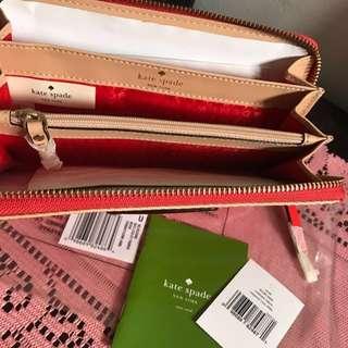 Aunthentic Kate spade Neda Wallet
