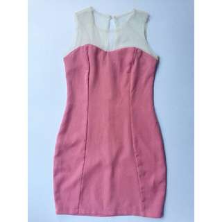 Bodycon Dress (Pink)