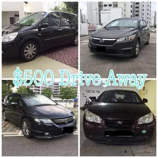 ✅[UBER&GRAB&Personal] Honda Stream , Odyssey , Hyundai Avante, Renault Grand Scenic
