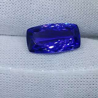 Certified 6.47 cts Natural Tanzanite