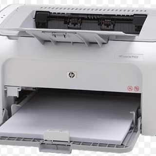 HP Laser Jet P1102