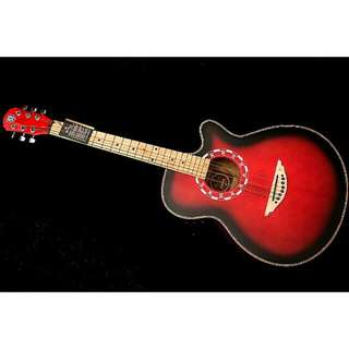 Techno DM40 Red Semi Acoustic Guitar