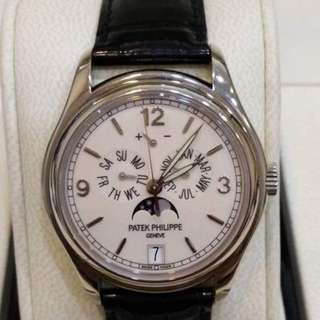 Pre owned Patek Philippe Complicated Watches 5146 White Gold