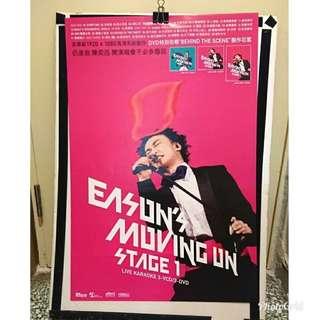 陳奕迅 Eason 海報 Poster  Moving on stage 1