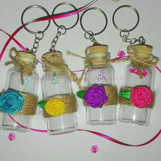 Rustic Keychain Bottle