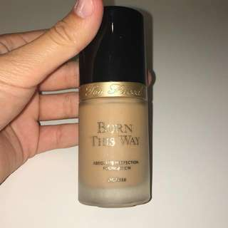 Too Faced Born This Way Foundation Warm Beige