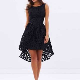 Chi Chi London Payton dress black size 10