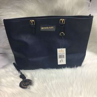 REPLICA MICHAEL KORS Navy 3 Piece Bag