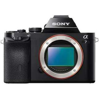 Brand new sony full frame a7 a7ii