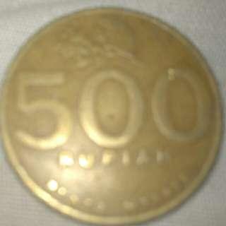 Uang antik 500 rupiah