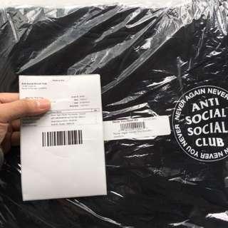 Anti social social club hoodie (M)