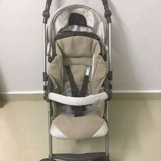 Japan Combi Granpaseo Brown Stroller
