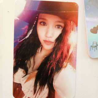WTS TWICE MINA Twicecoaster Photocard