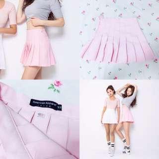 AA Pink Pastel Tennis Skirt