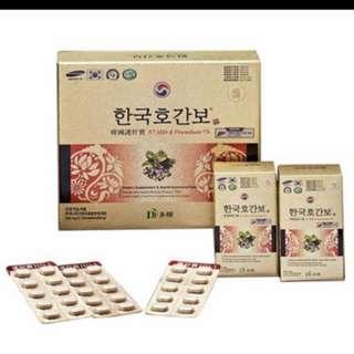 h : Korea Dawon HD - 1 premium / 1 bottle (60 tablets)