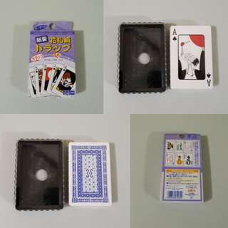 Japanese Playing Cards (from japan)