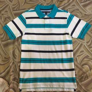 Tommy Hilfiger Teal Poloshirt