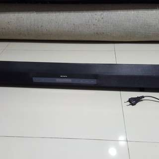 Spoilt Sony Soundbar sound bar ht ct260 speaker