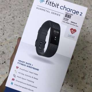 Fitbit Charge 2 (Heart Rate & Fitness Wristband)