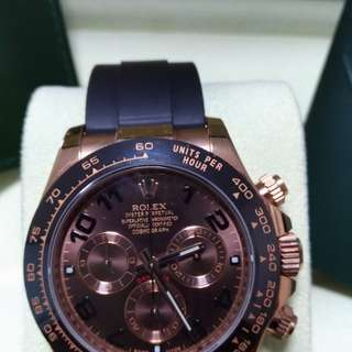 Rolex Daytona 116515LN chocolate