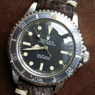 (Reserved) Rolex 5513 Feet First Submariner
