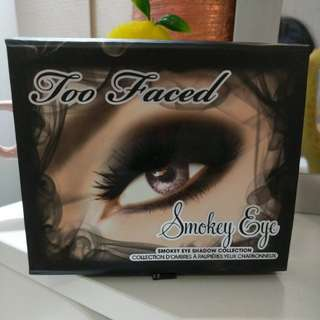 Authentic Too Faced Smokey Eye Collection