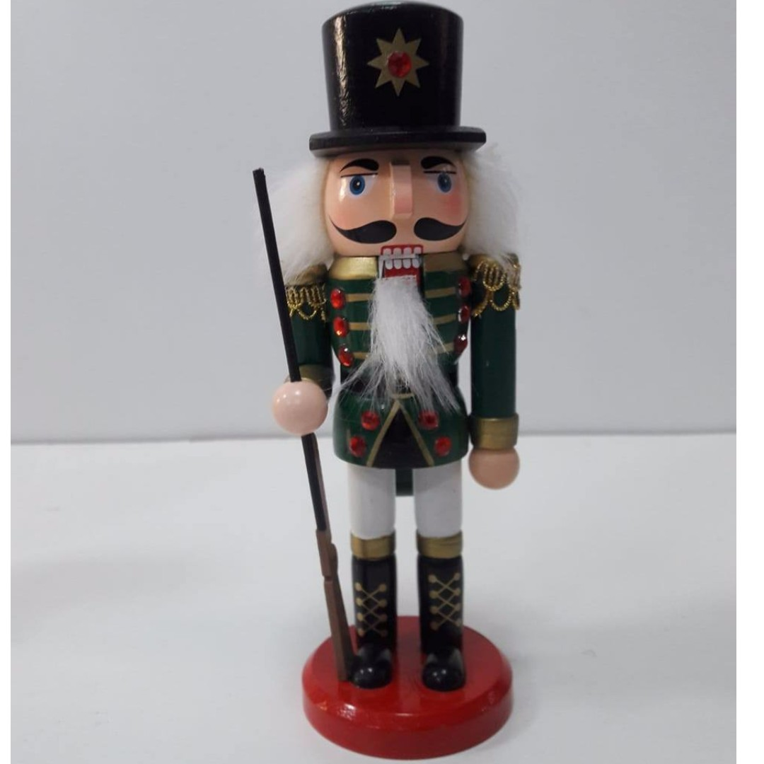 20cm Christmas Wooden Nutcracker Soldiers