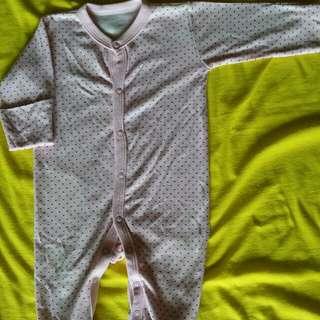 Sleepsuit libby love pink 0-3m