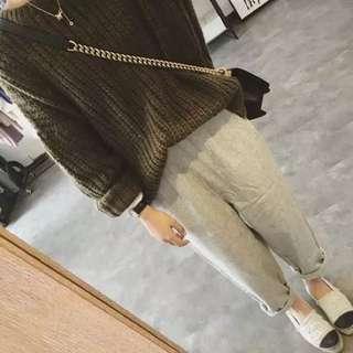 韓版百搭毛衣