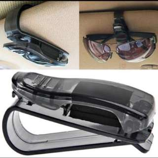 Car Holder Clip For Spectacle Sunglasses Ticket Coupon!