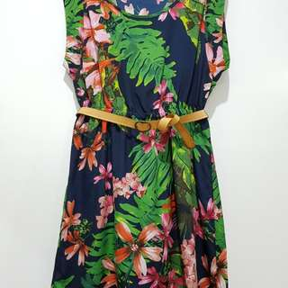 Mango Tropical Dress